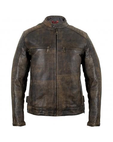 Motorrad Vintage Lederjacke...