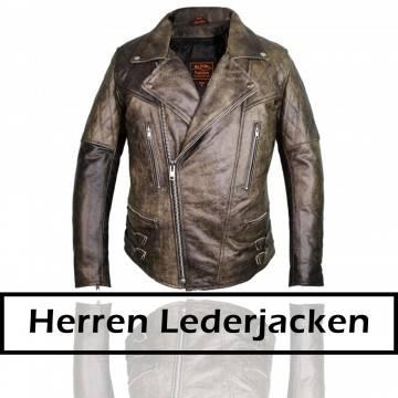 Motorrad Herren Lederjacken