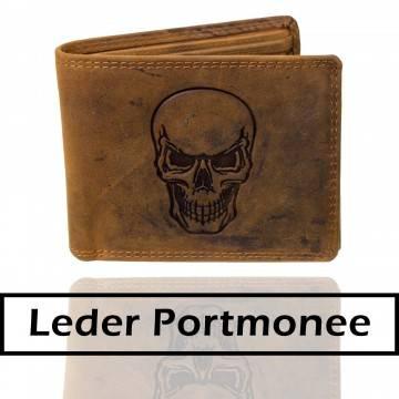 Leder Portmonee